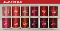 Shades Of Red (Set #4) - Magnifico 12 spool set.