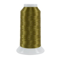 #4010 Black/Gold - Twist 2,000 yd. cone