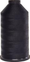 #001 Black - Bonded Nylon Thread size #207 (1 Pound Approx. 1,925 Yds)