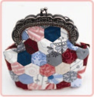 Pattern: Hexie Club-Sweet Purse By Hugs 'N Kisses. (H-72)