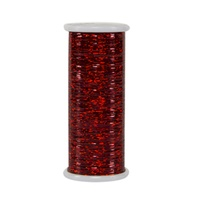 #130 Ruby - Glitter 400 yd. spool