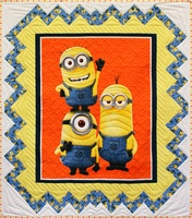 Quilting Treasures 1 In A Minion Quilt Kit