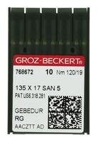 Groz-Beckert 135 X 17 SAN 5 #19