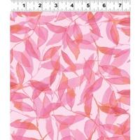 Clothworks Spring Meadow Light Pink