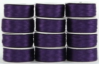 MasterPiece #148 Pop Art Purple #50/2 L-style Bobbins. 1 Dz.