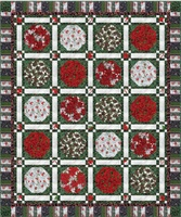 FREE DOWNLOADABLE PATTERN - Hoffman Berries and Bloom