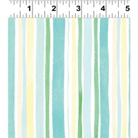 Clothworks Spring Meadow Turquoise