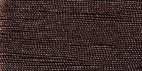Buttonhole Silk #16 #066 Black Brown 22 Yds. On Card.