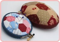 Pattern: Hexie Club-Pincushion By Hugs 'N Kisses. (H-69)