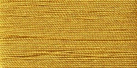 Buttonhole Silk #16 #074 Mustard 22 Yds. On Card.