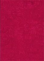 Batik Textiles Caribbean Calypso Red