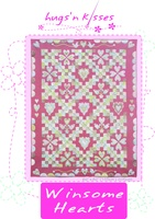 Pattern: Winsome Hearts By Hugs 'N Kisses. (H-29)