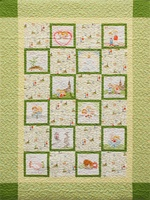 Follow Me Baptism Quilt Kit- Yellow Version