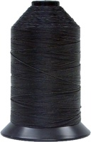 Black - Bonded Nylon Thread size #277 (1 Pound Approx. 1,422 Yds)