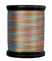 Tiara #50 Variegated Filament Silk Thread. #607. 273 Yds.