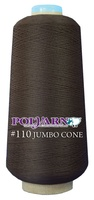 #110 Dark Brown - Polyarn 8,500 yd. jumbo cone