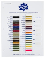 Solar Guard (Bonded Polyester) Color Card