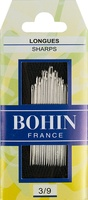 Bohin Sharps Assorted Size 3/9 Hand Needles