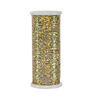 #105 Gucci Gold - Glitter 400 yd. spool