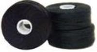 #92 Bonded Polyester M-Style Bobbins - #001 Black  1 Dz.