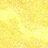 Quilting Treasures Ombre Scroll Yellow