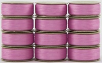 SuperBOBs #605 Light Pink M-style Bobbins. 1 Dz.