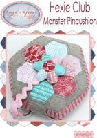 Pattern: Hexie Club-Monster Pincushion By Hugs 'N Kisses. (H-67)