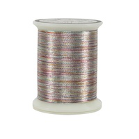 #031 Variegated Silver - Superior Metallics 500 yd. spool