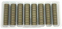 SuperBOBs #617 Taupe L-style Bobbins. 1/2 Gross.