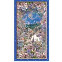 """Quilting Treasures Dreamland Digital Multi 24"""" Panel"""