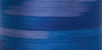 #132 Blue Iris 4mm Silk Ribbon x 5 yds.