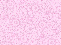 Quilting Treasures Daisy Light Pink