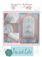 Pattern: Tea and Cake By Hugs 'N Kisses. (H-43)