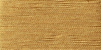 Buttonhole Silk #16 #086 Gold Dust 22 Yds. On Card.