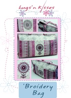 Pattern: Broidery Bag By Hugs 'N Kisses. (H-33)