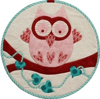 Pattern: Tootie Owl By Hugs 'N Kisses. (H-24)