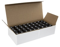 #69 Bonded Polyester M-Style Sideless Bobbins - #001 Black  1/2 Gross Box.