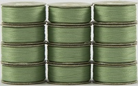 SuperBOBs #614 Light Green. L-style Bobbins. 1 Dz.