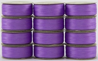 SuperBOBs #607 Light Purple M-style Bobbins. 1 Dz.