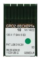 Groz-Beckert 135 X 17 SAN 5 SD #22