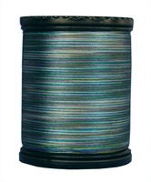 Tiara #50 Variegated Filament Silk Thread. #703. 273 Yds.
