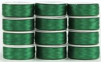 MasterPiece #130 Kelli Green #50/2 L-style Bobbins. 1 Dz.