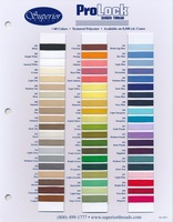 Prolock Textured Polyester Color Card