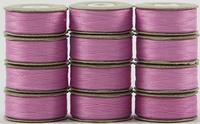 SuperBOBs #605 Light Pink. L-style Bobbins. 1 Dz.