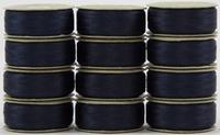 SuperBOBs #609 Dark Blue M-style Bobbins. 1 Dz.