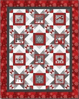 FREE DOWNLOADABLE PATTERN - Henry Glass Holiday Magic