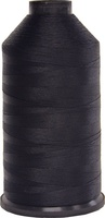 #001 Black - Bonded Nylon Thread size #69 (1 Pound Approx. 6,015 Yds)