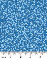 Benartex Blue and White