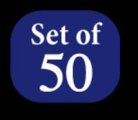 1st set of 50 Spools (#900-#949) - King Tut 500 yd. spools