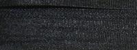 #004 Black 2mm Silk Ribbon x 5 yds.